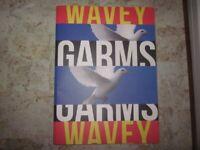 Very rare Wavey Garms retro fashion street wear culture book limited edition.
