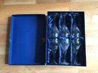6 Denby Wine Glasses in original box