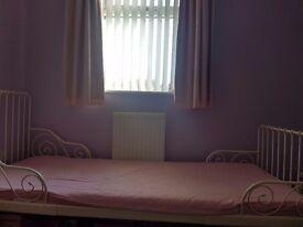 Ikea MINNEN bed and mattress