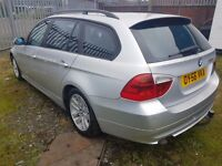 bmw 320d TOURING ESTATE, ( ANY OLD CAR PX WELCOME ) 1 OWNER, MOTORWAY MILES