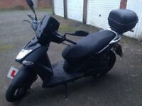 Kymco Agility City - 125cc Scooter - Commuter or Knowledge, Leaner legal/only CBT required.