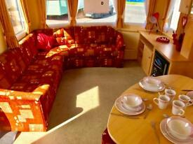 Cheap 3 bed DG & Heated caravan, no fees until 2019! NE63 9YD