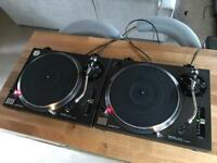 Wanted - Technics SL 1210 MK2 Turntables - Any Condition - Technics 1200 MK5 M5G