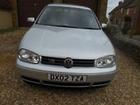 VW GOLF VR6 4 MOTION IN SILVER NICE CONDITION BLACK LEATHER INTERIOR