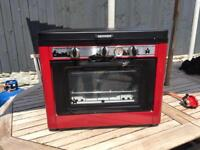 Camping Double Hob and Oven