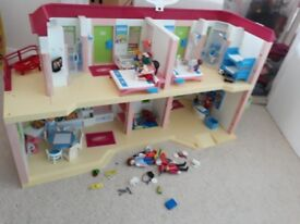 Playmobil Hotel and furniture