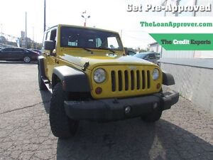 2008 Jeep Wrangler Unlimited X | 4WD | 2 TOPS | SAT RADIO