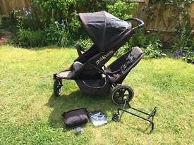 Phil and Teds double buggy plus accessories