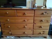 Pine drawer