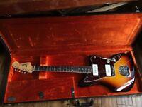Fender American Vintage 65 Jazzmaster Reissue (3 Tone Sunburst) w/ Case and Staytrem Upgrades