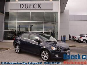 2016 Chevrolet Sonic LT  Accident Free - LOW Mileage - Local!!!