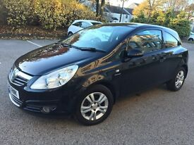 2010 CORSA EMERGY, FULL YEAR MOT, FULL SERVICE HISTORY, 1 OWNER FROM NEW