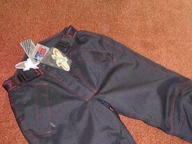 Cobra textile trousers
