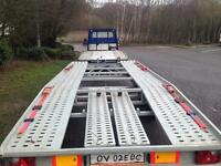 Brand new trailer 5 meter Lenght for lwb Vans maximum load 2.7 ton