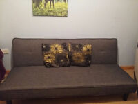 Sofa Bed for Sale - Grey - Like New