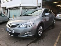 Vauxhall Astra 1.6 Petrol 5 Door Manual Hatchback Silver 2011 Stunning Low Mileage Car