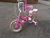 Girl first bike