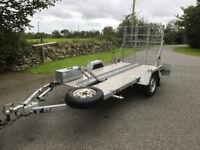 motorcycle / motorbike trailer. Phoenix heavy duty Big Bike trailer only used twice