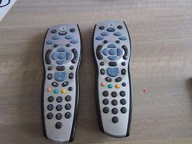 2 x Sky + remotes