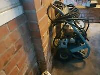 Jet wash petrol with Honda engine 10 metre cable turbo nozzle works well