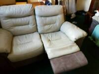 Electric usb port recliner couch