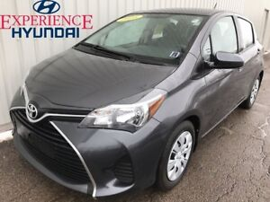 2016 Toyota Yaris LE WITH GREAT FUEL ECONOMY AND FACTORY W