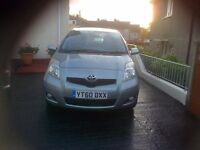 BARGIN REDUCED FOR QUICK SALE TOYOTA YARIS VERY GOOD CONDITION