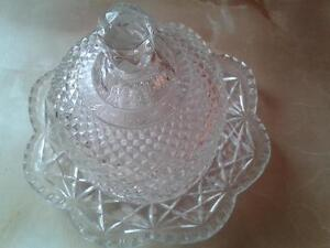 collectable antique  AVON  butter dish.