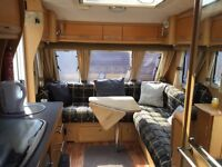 4 berth Elddis Crusader Aurora caravan with awning and many extras