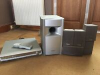 Toshiba DVD player and speakers