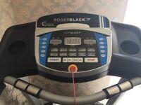 Roger Black treadmill.