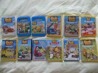 large bundle of Bob the Builder DVDs