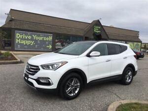 2017 Hyundai Santa Fe Sport SE / LEATHER / SUNROOF / BACK UP CAM
