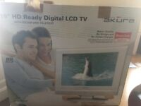Akura 19 inches: Digital TV or as an external monitor comes with additional cables