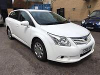 2009 (09) TOYOTA AVENSIS ESTATE 2.0 MANUAL DIESEL ONE OWNER FROM NEW FULL HISTORY