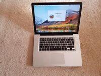 15 inch macbook pro i7 quad core vgc warranty
