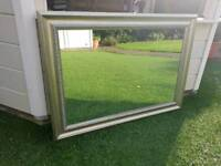 Antique effect Mirror and Frame