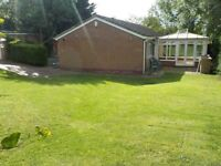 In Marton Beautiful detatched 3 bedroom bungalow in a private location.