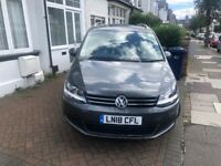 PCO CAR HIRE, VOLKSWAGEN, SHARAN, CAR HIRE, UBER READY PCO, £150 PER WEEK INCLUDING INSURANCE