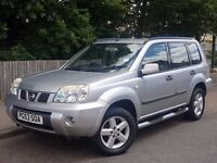 2003 NISSAN X TRAIL SE DCI, 2.2 DIESEL, BRAND NEW MOT, NEW CLUTCH AND FLYWHEEL FITTED.