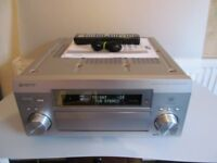 Pioneer VSX-D2011 7.1 Channel 100 Watt Receiver inc Mic,remote and manual.