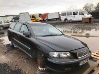 Volvo v70 petrol estate spare parts 2001 year door bumper bonnet wing lightradiator