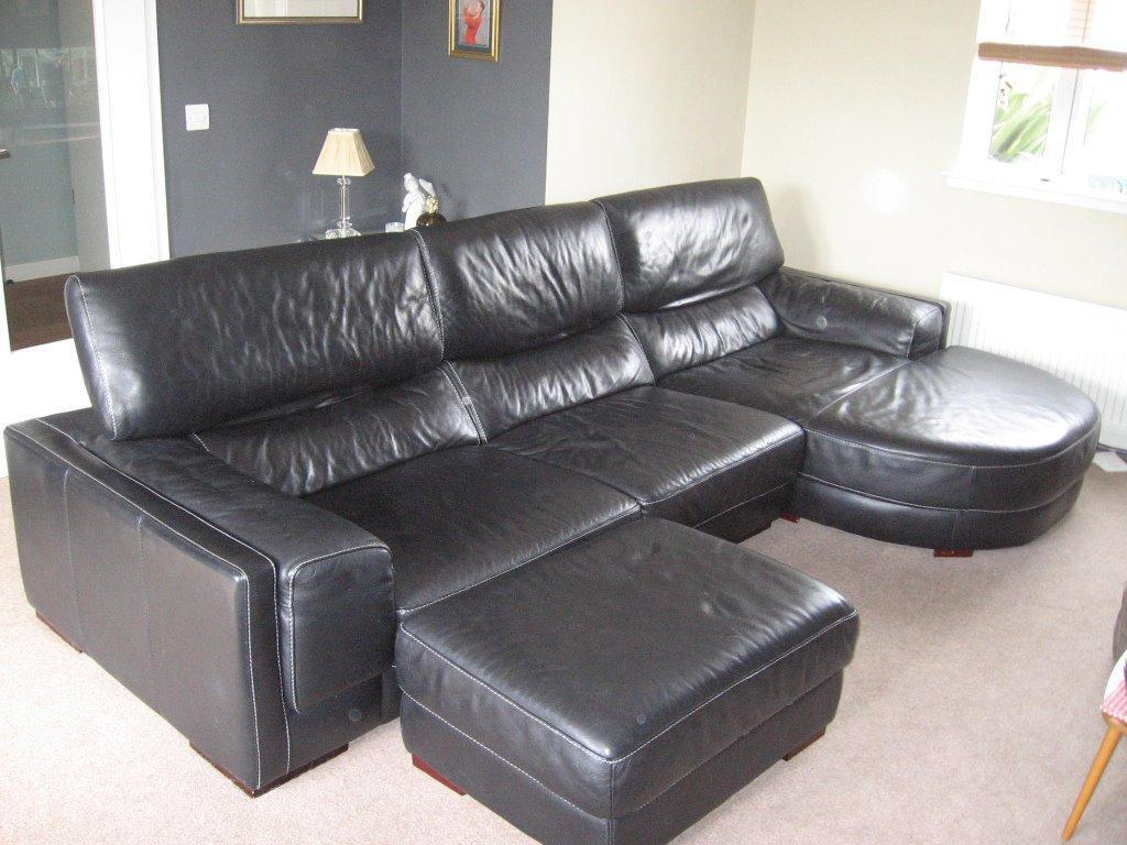 Black Leather Dfs London Style