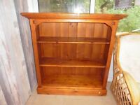 SOLID OAK BOOKCASE - imported from Australia