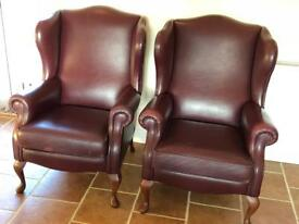 2 seater and 2 matching chairs