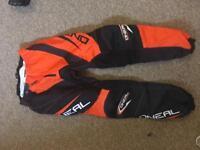 Oneal motorcross pants