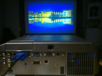 Projector and electric remote screen
