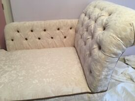 Newly upholstered Chaise Longue