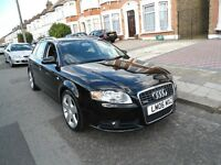 2006 A4-AUDI-AUTO-S LINE-TDI-DIESEL***LONG MOT-FULL SERVICE HISTORY***IMMACULATE & EXCELLENT DRIVE