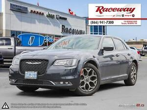 2016 Chrysler 300 S AWD| 8.4 SCREEN| LEATHER | REAR CAM |